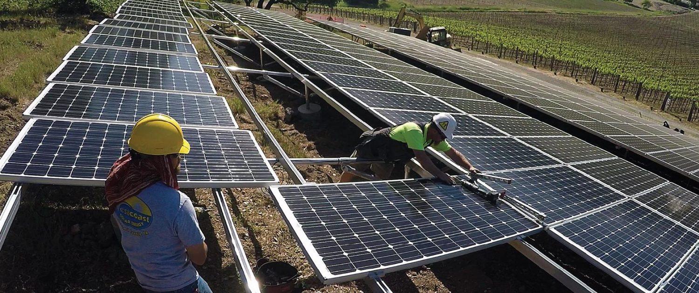 Italics Winery Solar Array