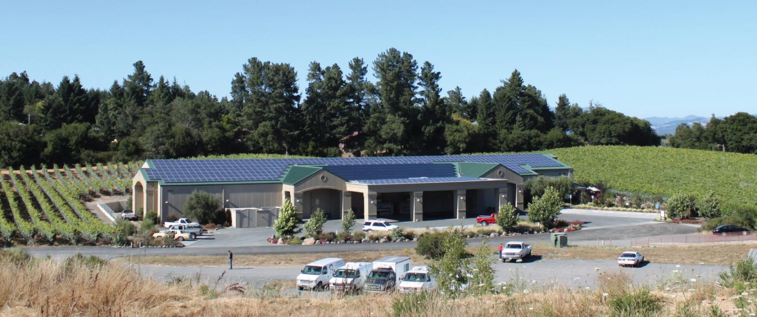 Merry Edwards Winery Solar Array