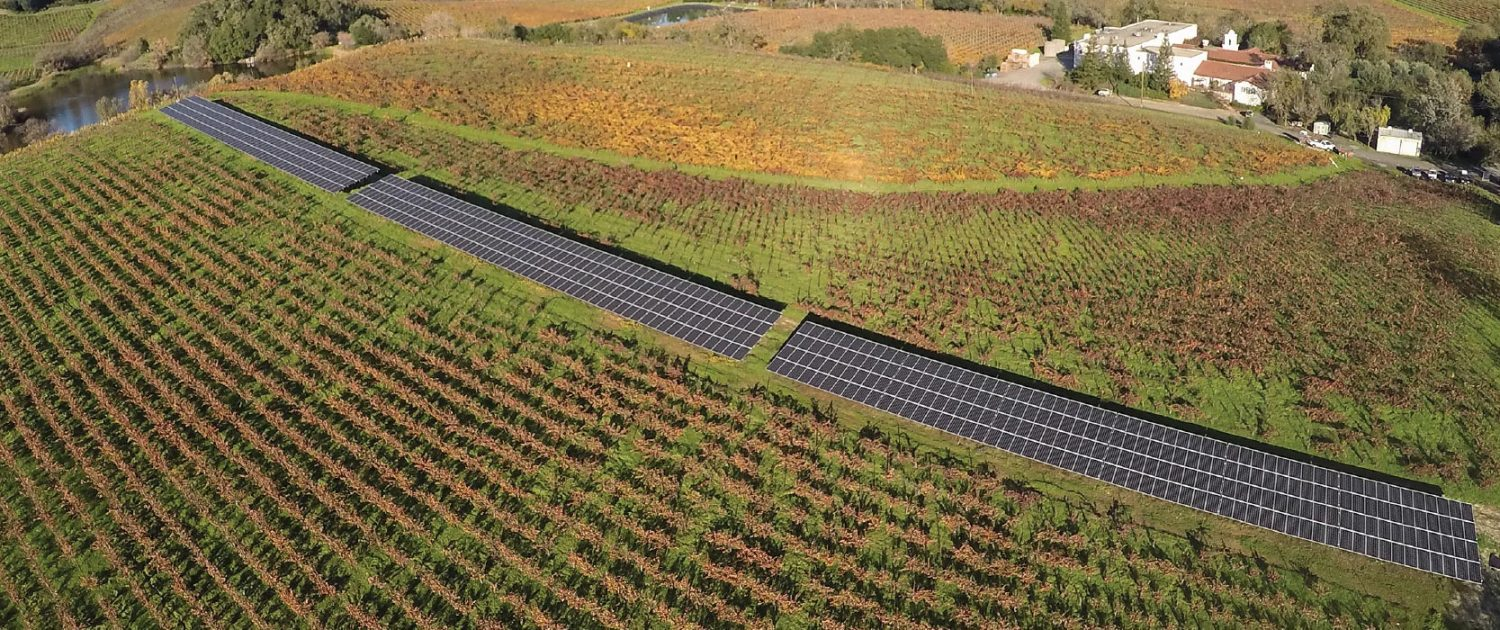 Michel-Schlumberger Wine Estate Solar Array