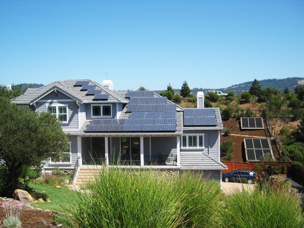 Residential Solar Power Plant-