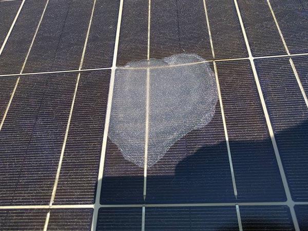 Repairing a Solar Panel Defect