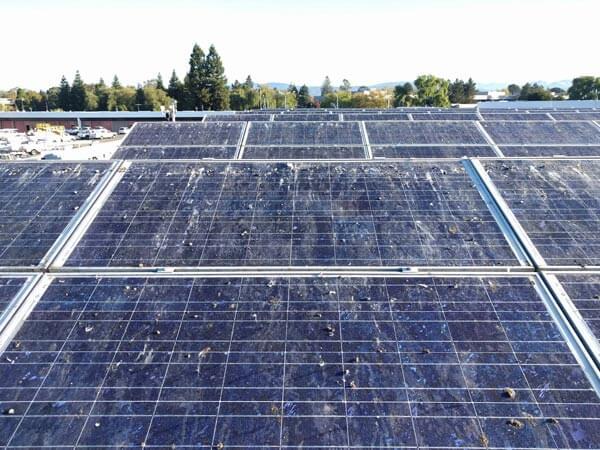 Solar Panel Debris Removal