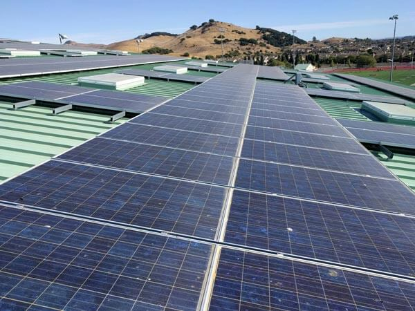 Dents in Solar Panels