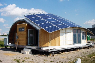 solar home examples