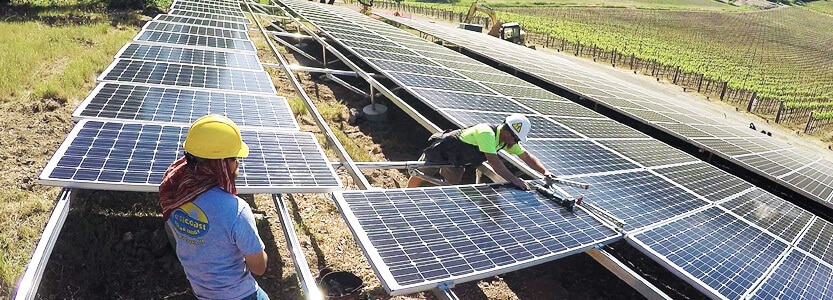 positive environmental impacts of solar